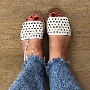 Loeffler Randall Perforated Sandals